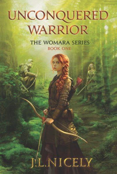Unconquered Warrior a Novel Book Cover