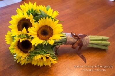 DIY Sunflower Bouquet | Miami Wedding Photographer Andrea ...