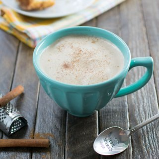 Honey Cinnamon Latte freshly made