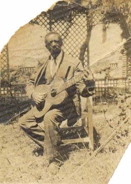 Guitarrista negro argentino a finales del siglo 19.