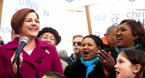 Christine Quinn Launched Latinos con Quinn.