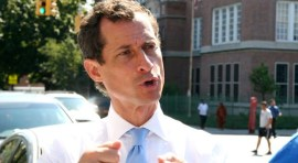 Anthony Weiner a la cárcel por enviar mensajes obscenos a menor de 15 años