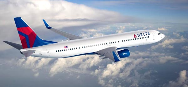 Avión de Delta Air Lines.