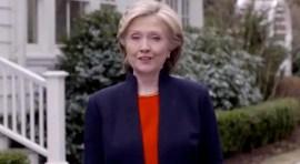 Hillary Clinton lanza candidatura a la presidencia de los EE.UU.