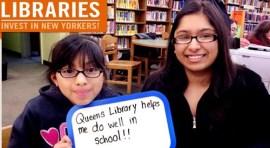 Manifestaciones por las Bibliotecas Públicas de NY