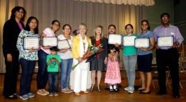 Graduados de inglés como segundo idioma del LACCQ