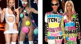 Premios MTV al desnudo… Miley, Taylor, Nicki, Kanye West a la presidencia & more