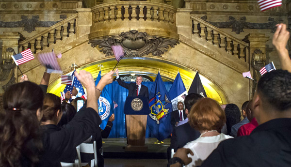 Mayor's Office Announces Partnership with Libraries for 'NYCITIZENSHIP' Initiative
