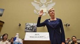 Cecile Richards defiende a Planned Parenthood en el Congreso de EE.UU.