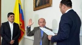 Jorge Muñoz 'el ángel de Queens' se posesiona como congresista de colombianos en el exterior