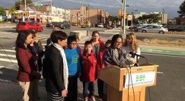 NYC Department of Transportation Celebrates International Walk to School Day