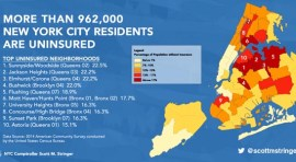 NYC Comptroller: More than 962,000 New Yorkers Lack Health Insurance