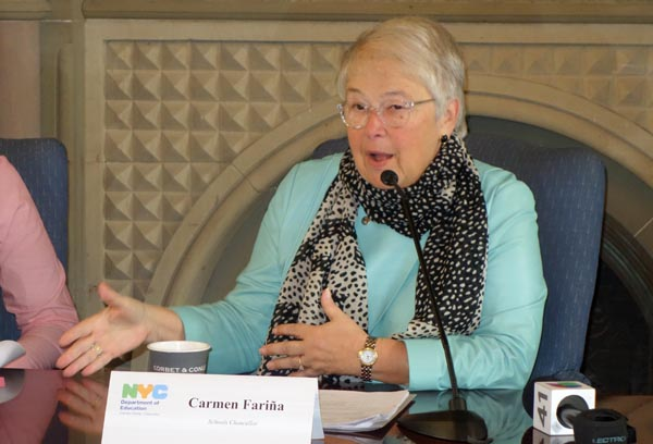 NYC School Chancellor Carmen Fariña Kicks Off Summer in the City Applications