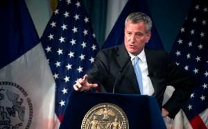 Bill de Blasio, alcalde de Nueva York. Foto Alcaldía de NY