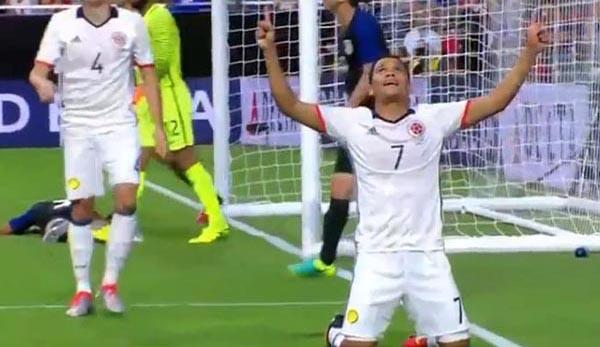 Copa América: Colombia vence a Estados Unidos 1 a 0