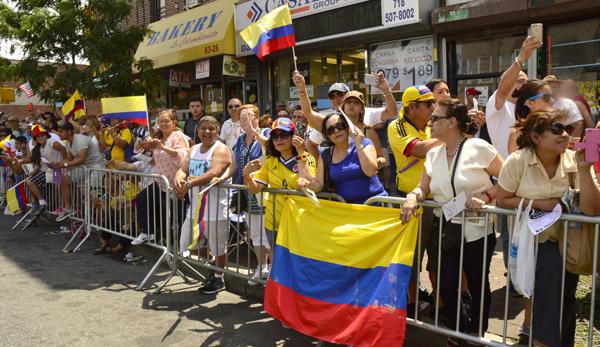 Desfile Colombiano de Nueva York cumple 16 años y los celebra en Northern Boulevard por la paz