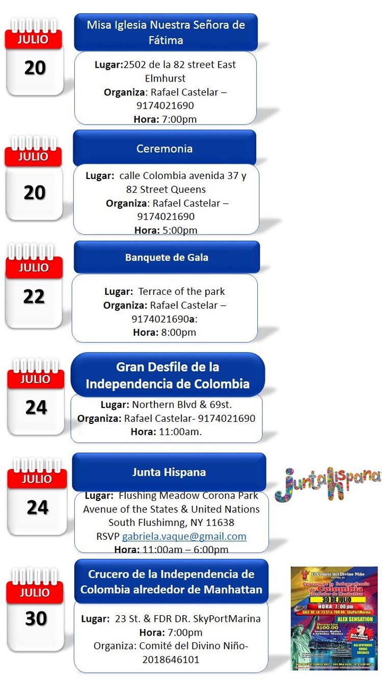 Independencia de Colombia NY