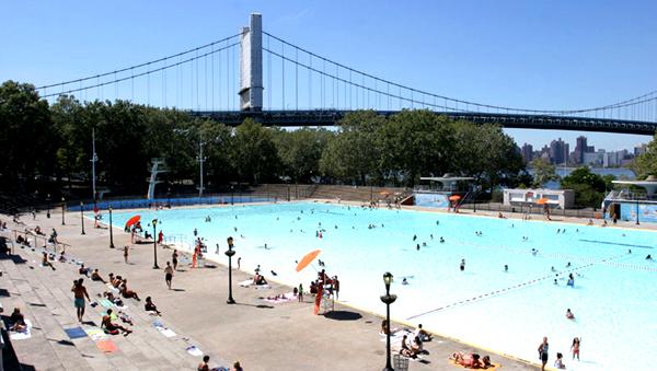 Astoria Park in Queens.