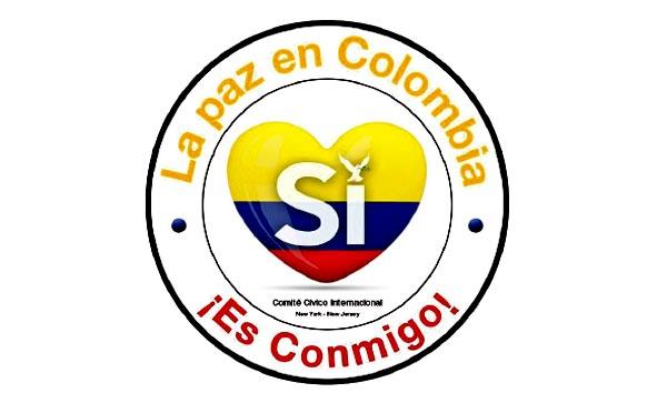 Salpicón por el SI a la paz en Colombia este sábado 20 de agosto