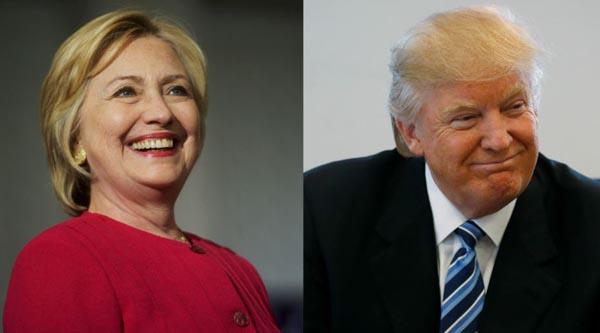 Trump aventaja a Clinton en encuestas