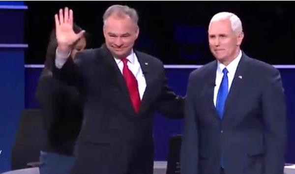 Candidatos a VP se tiran duro en debate