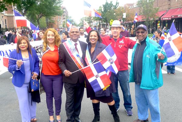 Desfile dominicano de Queens con acento político