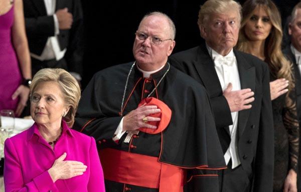 Clinton y Trump en el purgatorio
