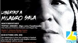 Documental por la liberación de Milagro Sala en Argentina
