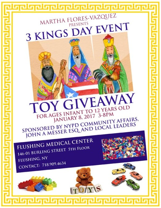 Three Kings day at Flushing Medical Center