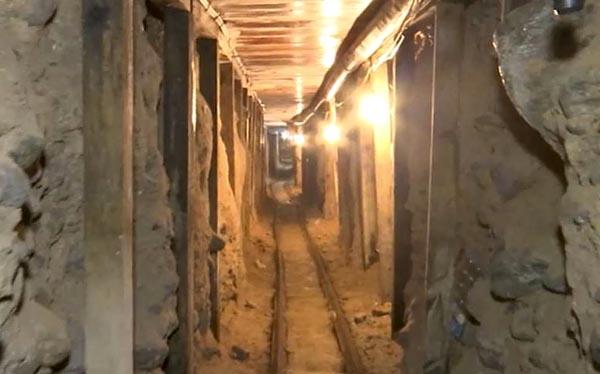 Descubren túneles en Tijuana para meterse a EE.UU.