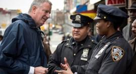 Nuestra estrategia exitosa para la seguridad pública en NY: alcalde Bill de Blasio