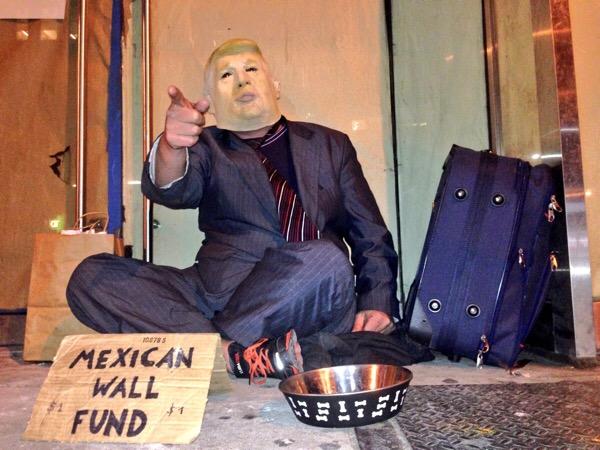 Trump: 'Congreso pagará por la pared en frontera con Mexico'