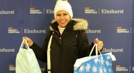 Winter Wonderland Event at NYC Health + Hospitals Brings Joy to Pediatric Patients
