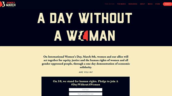 Un día sin mujeres por las féminas