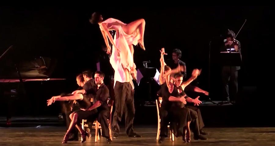 Escena de Tango Lovers.