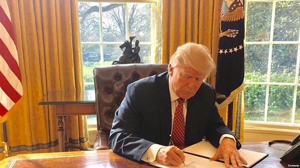 Ira por nueva orden ejecutiva migratoria del presidente Donald Trump