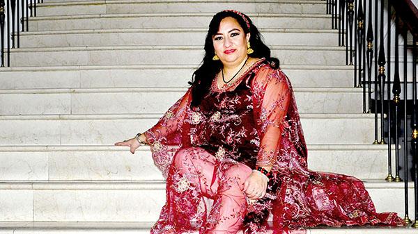 Gina Rodríguez es una guerrera andina