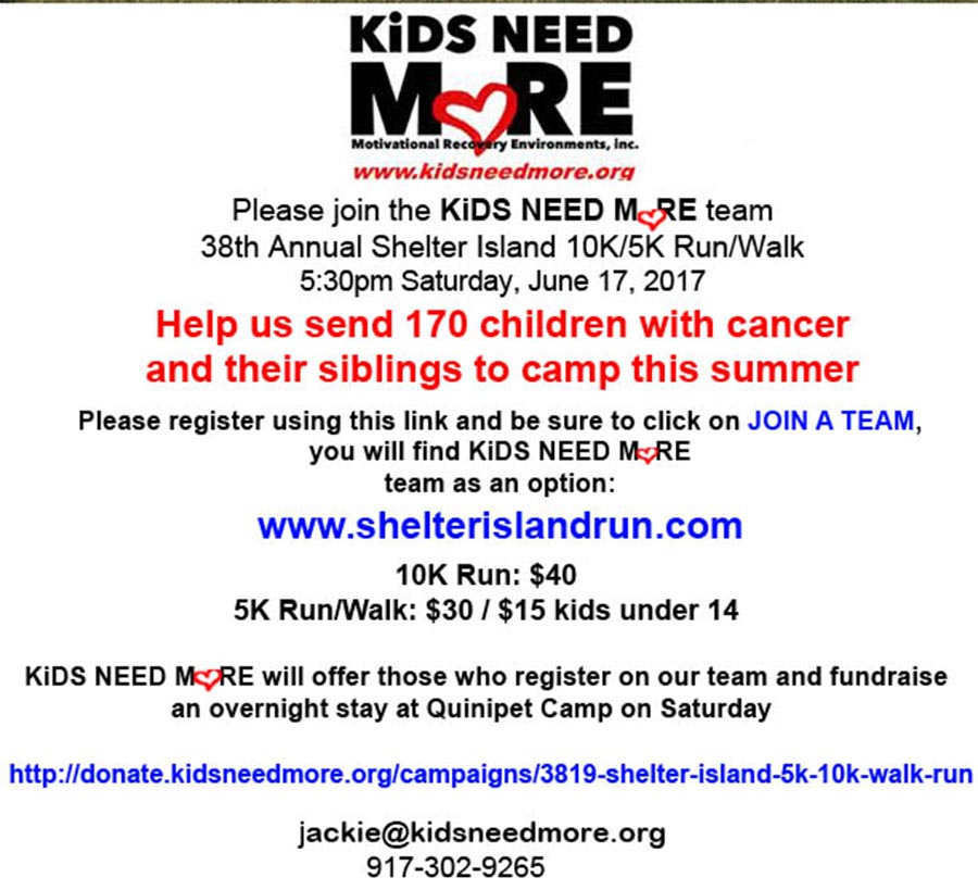 Kids with cancer need more 2017 10k