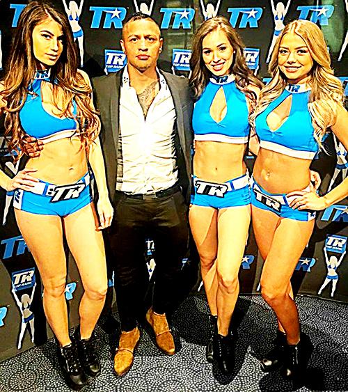 El pugilista Jonathan Maicelo es de las ligas mayores y así se promociona.