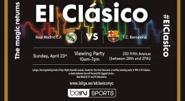 The Best of Spanish Soccer Meet the NYC Skyline this Sunday 23