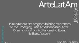 ArteLaTam surge para apoyar el arte latino con exhibición y subasta silenciosa este 22 de junio