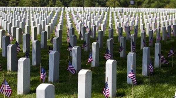 Día de soldados caídos en guerra