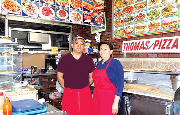 Thomas Pizza a la mexicana  y original desde 1963