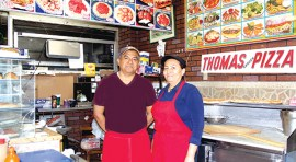 Thomas Pizza a la mexicana  y original desde 1963