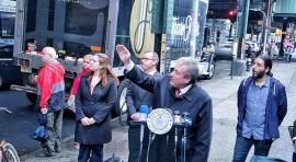 Councilman Daniel Dromm Announces a Class Action Lawsuit for Hazards on Roosevelt Avenue Train Trestles