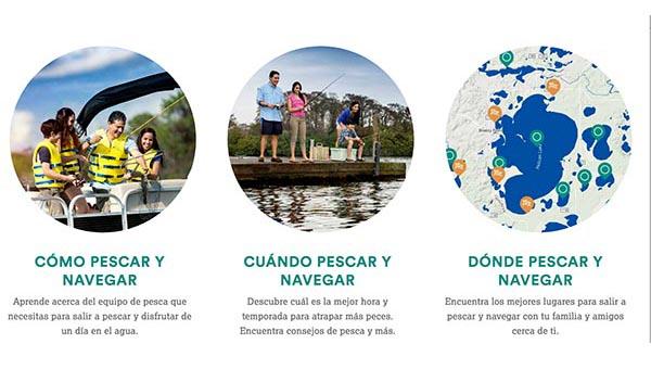 Semana Nacional de Pesca y Navegación para que salga a divertirse con familia y amigos