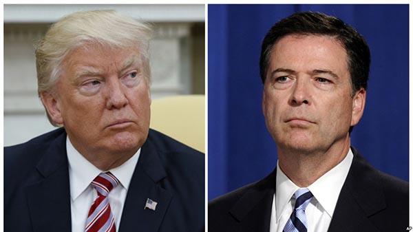 Comey llama a presidente Trump mentiroso