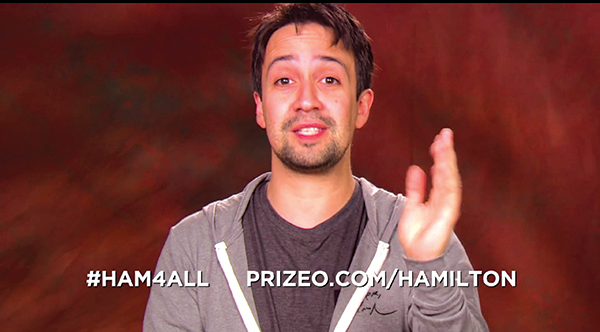 #HAM4ALL y viaje a Los Angeles a ver la obra Hamilton con Lin-Manuel Miranda