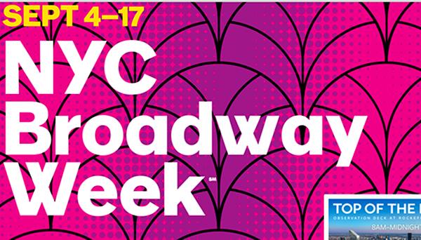 Teatros celebran 'La Semana de Broadway' durante el Mes de la Herencia Hispana