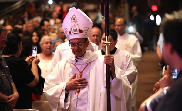 Cardenal salvadoreño Gregorio Rosa Chávez visita Long Island